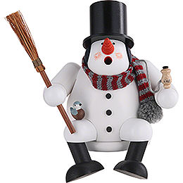 Smoker Snowman  -  17cm / 7 inches