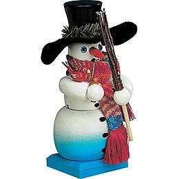 Smoker Snowman  -  25cm / 10 inch