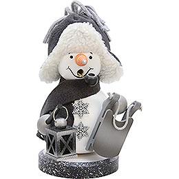 Smoker  -  Snowman Grey  -  21,0cm / 8.3 inch