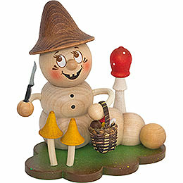 Smoker  -  Worm Mushroom Rudi  -  14cm / 5.5 inch
