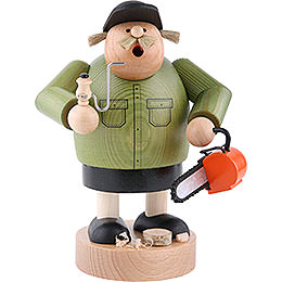 Smoker  -  forest worker  -  20cm / 7.9inch