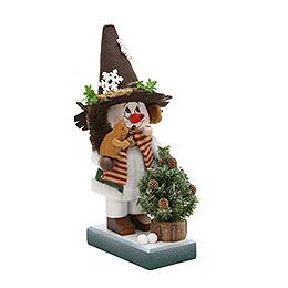 Smokers Gnome Snowman  -  35,5cm / 14 inch