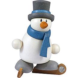 Snow man Otto on ice skates    -  8cm / 3.1inch