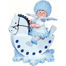 Snowflake Cavalier  -  5cm / 2 inch