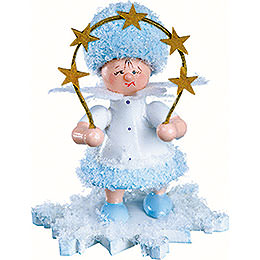 Snowflake with star arch  -  5cm / 2inch