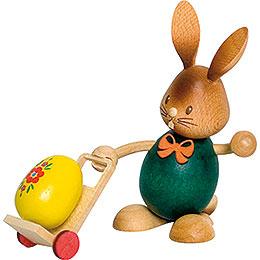Snubby Bunny with trolley  -  12cm / 4.7inch