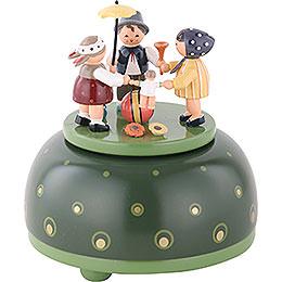 Spieldose Kinderreigen  -  12cm