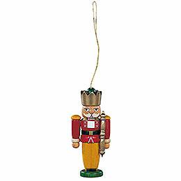 Tree Ornament  -  Nutcracker King Colored  -  8cm / 3.1 inch