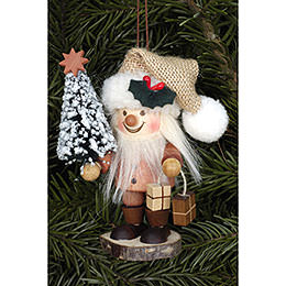 Tree Ornament  -  Santa Claus Natural  -  10,5cm / 4 inch