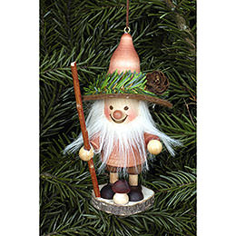 Tree ornament Forest Gnome natural  -  11,5cm / 5 inch
