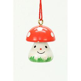 Tree ornament Mushroom    -  1,8 x 2,4cm / 1 x 1 inch