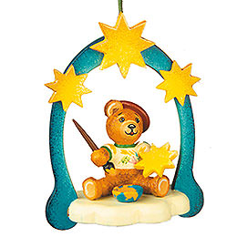 Tree ornament Teddy painter 7cm / 3inch