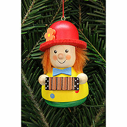 Tree ornament Teeter man Clown  -  7,5cm / 3inch