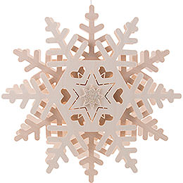 Window pictures snow crystal (2)  -  29cm / 11.4inch
