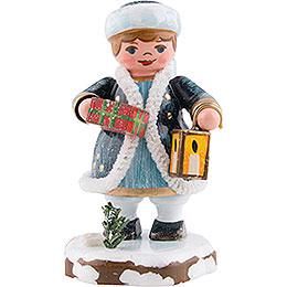 "Winter Children Heaven's child ""Joyful gifts""  -  6cm / 2.4inch"