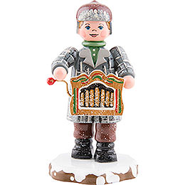 Winter Children Organ players  -  7,5cm / 3inch