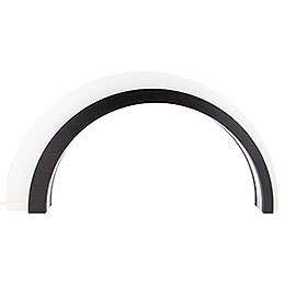 Wood - Design LED Arch Large  -  Dark  -  KAVEX - Nativity  -  75x40cm / 30x16 inch